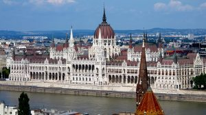Hungary's parliament in Budapest