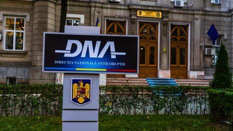 The Bucharest HQ of Romania's anti-corruption unit, the DNA