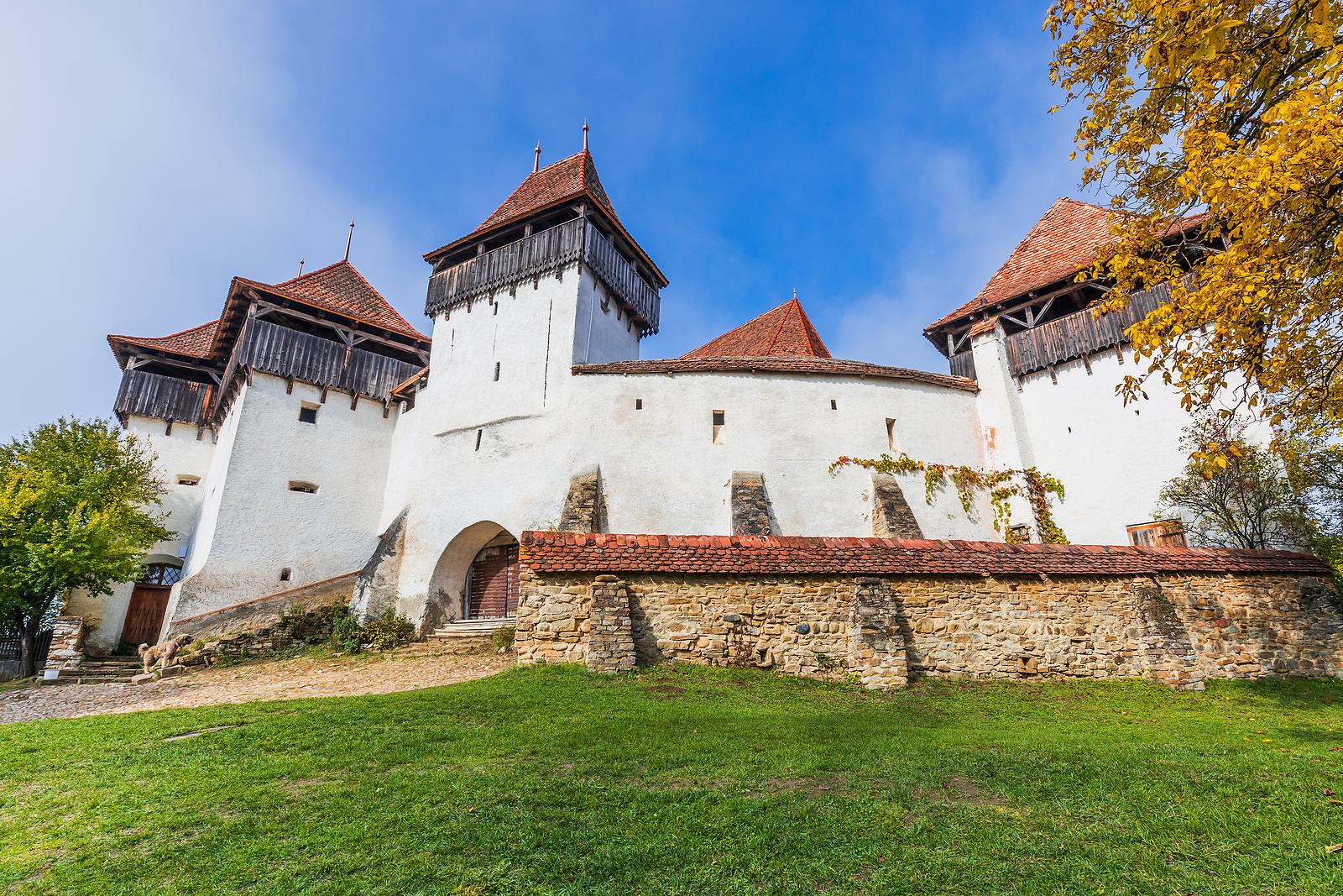 The fortified church at Viscri