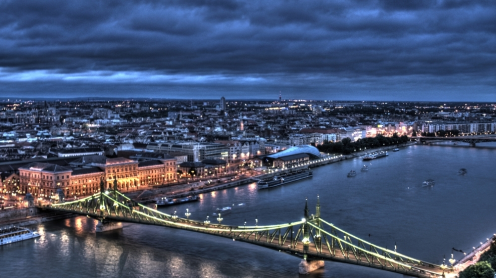 A view on Budapest, Hungary